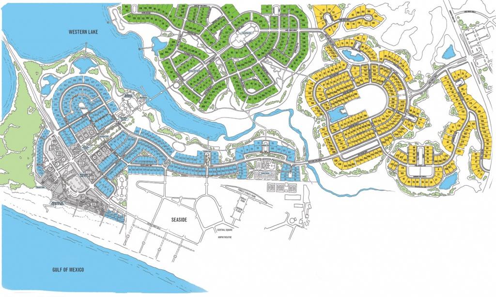 Watercolor Map Florida | Beach Group Properties - Map Of Florida Beach Resorts