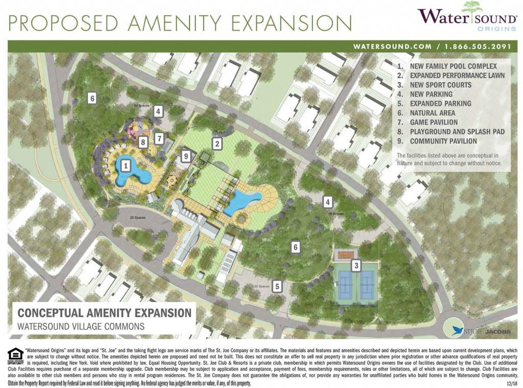 Watersound Origins - Watersound Florida Real Estate - Watersound Beach Florida Map