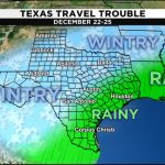 Weather Forecast Leading Into Christmas Hints At Travel   Texas Weather Map