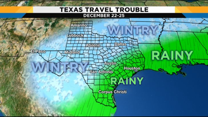 Texas Weather Map Today