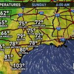 Weather Maps On Khou In Houston - Texas Weather Map Today