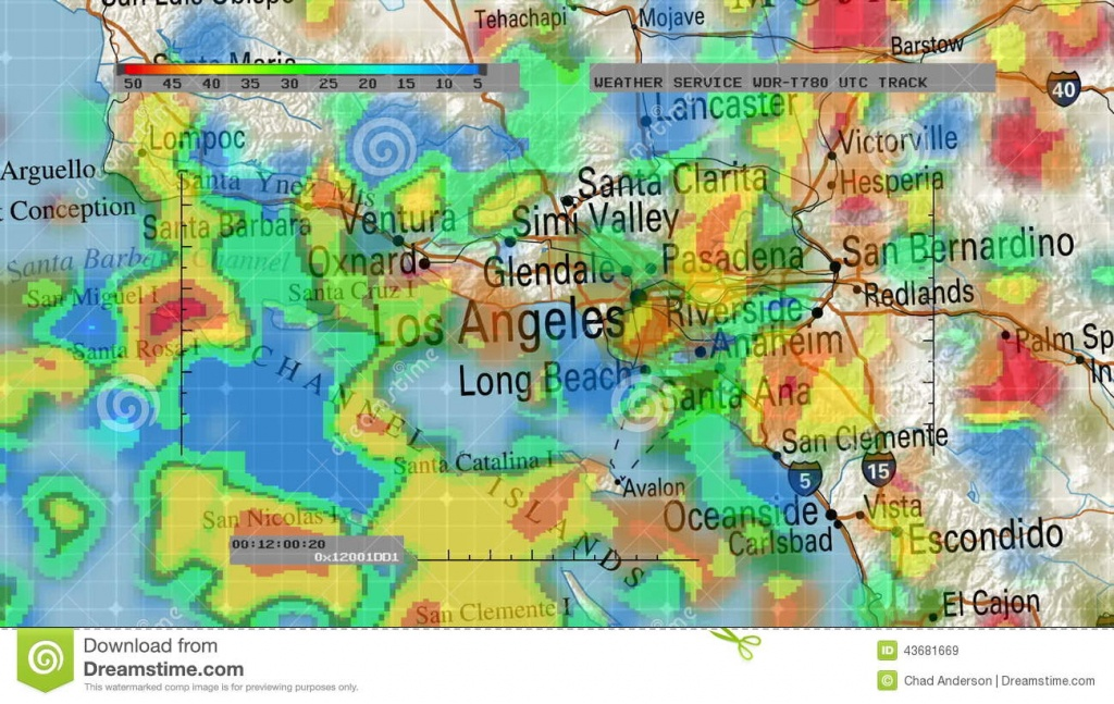 Weather Radar Digital Satellite Map Stock Video - Video Of Hurricane - Satellite Weather Map California