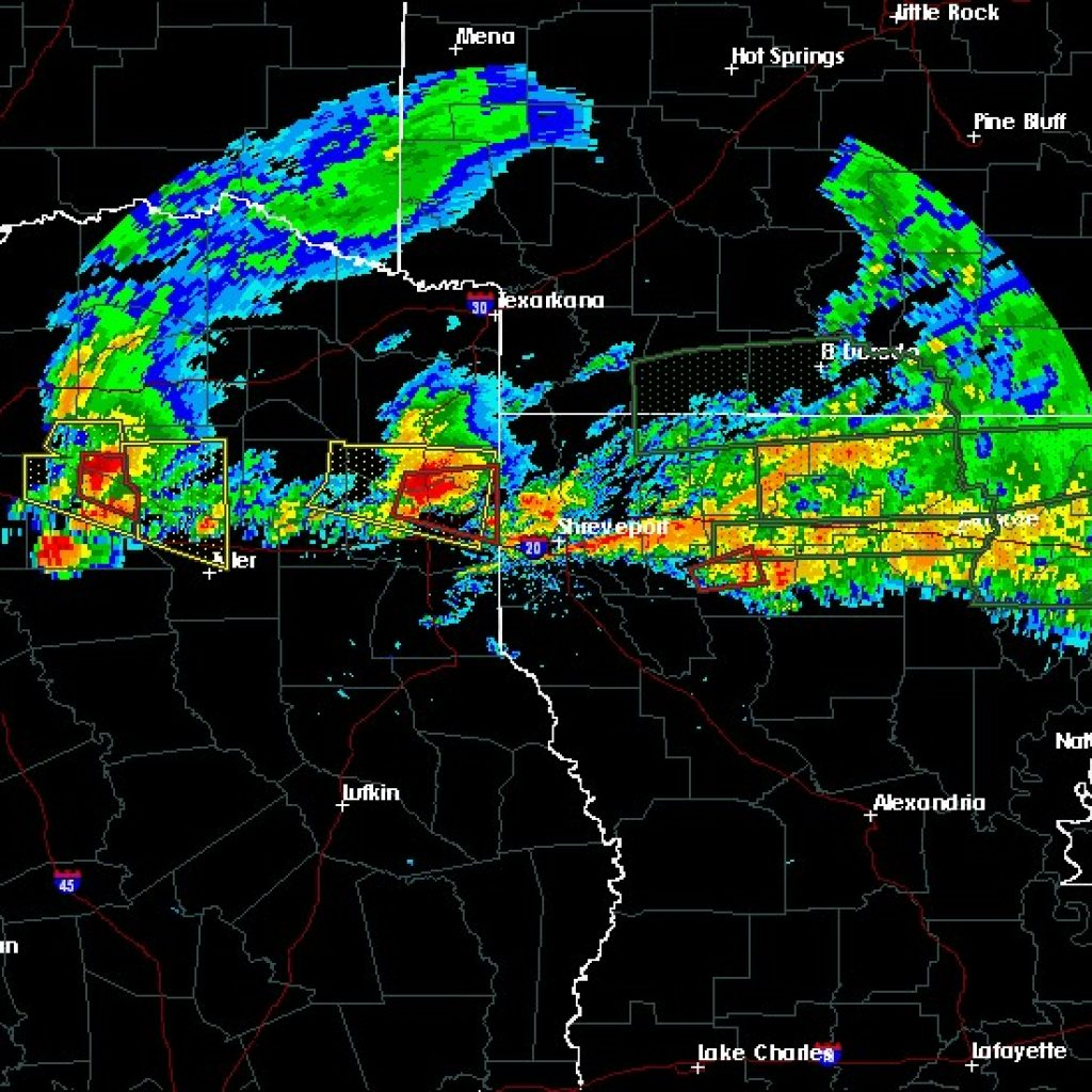 Weather Radar Tyler Tx Interactive Hail Maps Map For Tx - Hail Maps Texas