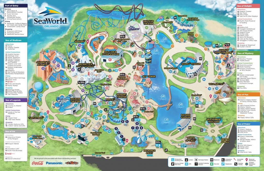 Web Map 3 22 16 Sea World - World Wide Maps - Seaworld San Antonio Printable Map