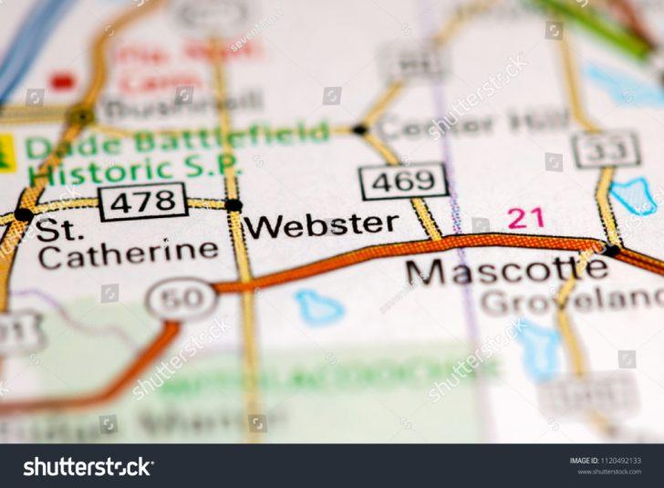 Webster Florida Map