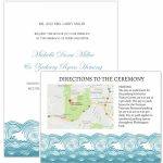 Wedding Invitation Maps   Maps For Wedding Invitations Free Printable