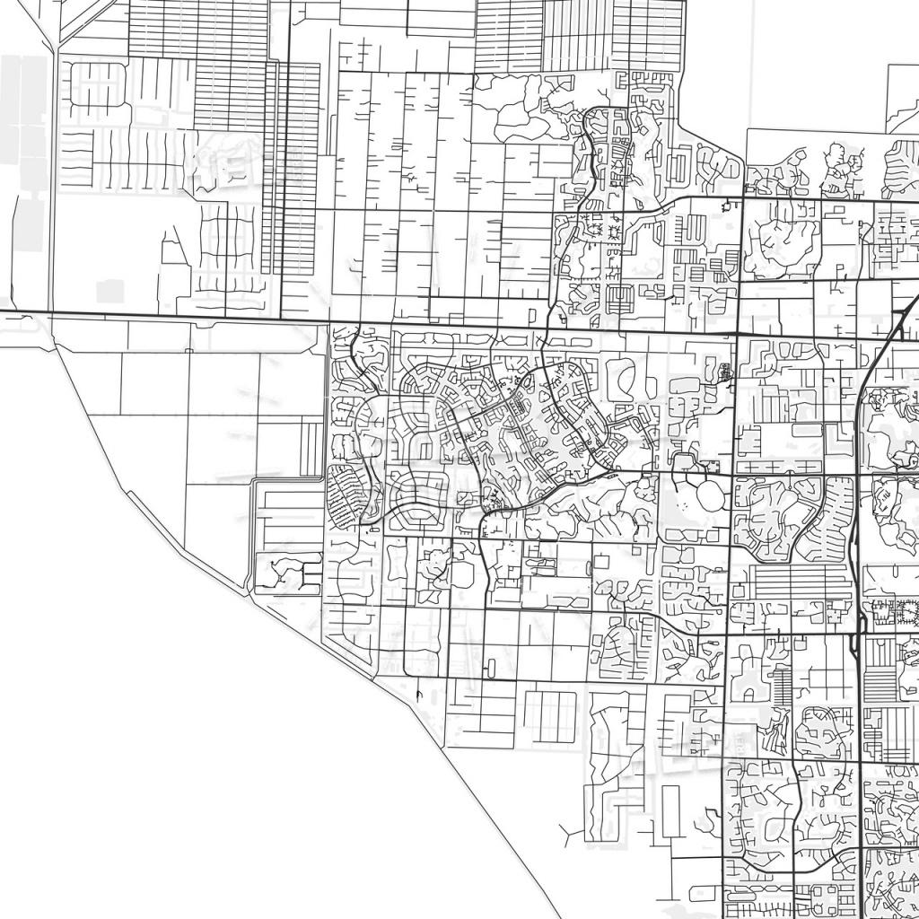 Wellington, Florida - Area Map - Light | Hebstreits Sketches - Wellington Florida Map