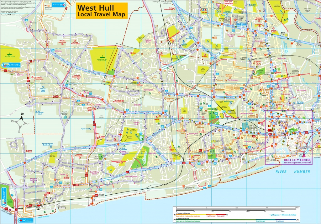 West Hull Travel Map - Hull Texas Map