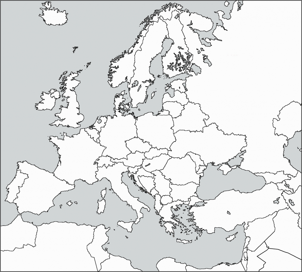 Western Europe Map Outline Best Of Blank Printable Simple Asia - Europe Political Map Outline Printable