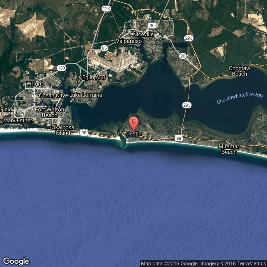 What Is The Closest Major Airport To Destin, Florida? | Getaway Usa - Florida Map Destin Fl