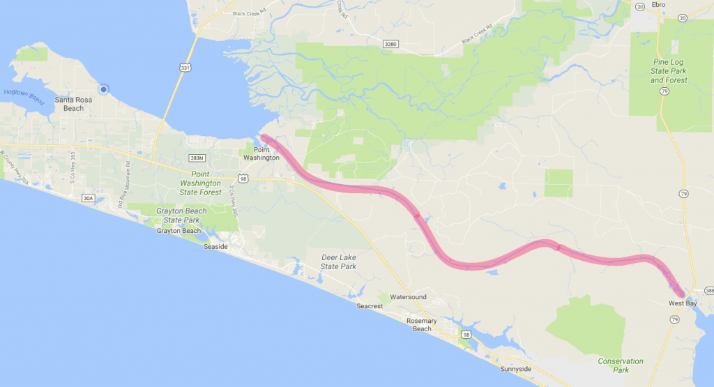 What Is The Intracoastal Waterway (Icw)? - 30A - Intracoastal Waterway Florida Map