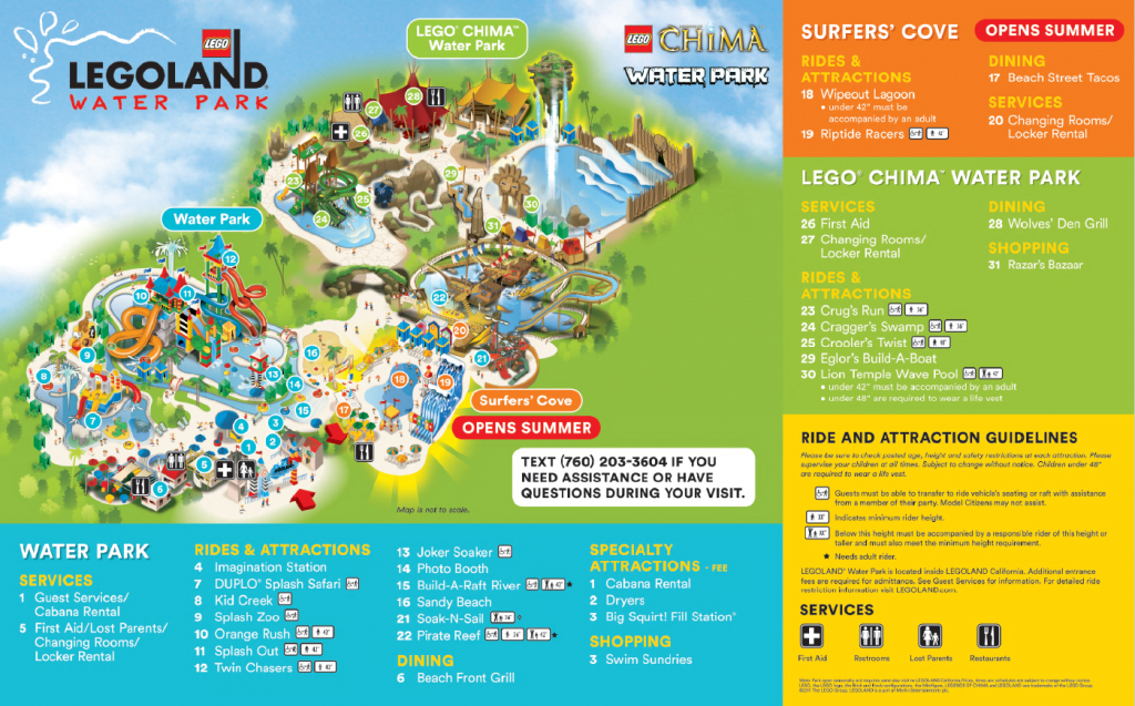 Where Can I Find Your Resort Map? – Legoland® California Theme Park - Legoland California Map