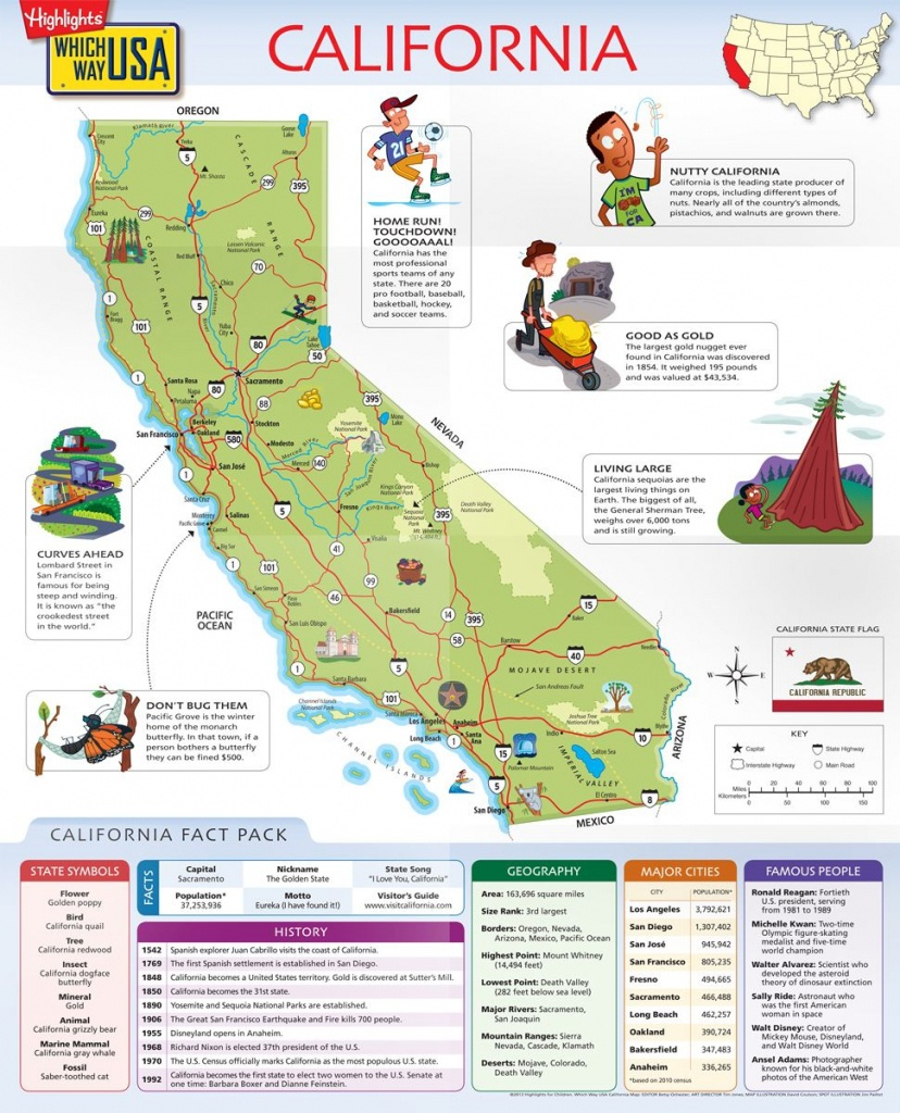 Which Way Usa - California Map | For My Grandsons | Geography For - California Map Puzzle