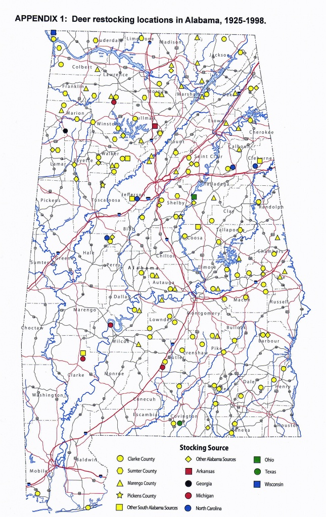 Whitetail Rutting Activity In Alabama Varies Widely   Outdoor Alabama - Deer Rut Map Texas