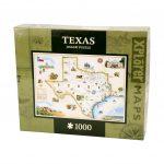 Whole Earth Provision Co. | Masterpieces Xplorer Texas Map 1000   Texas Map Puzzle