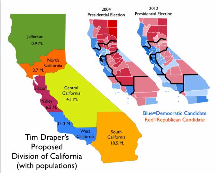 Funner California Map