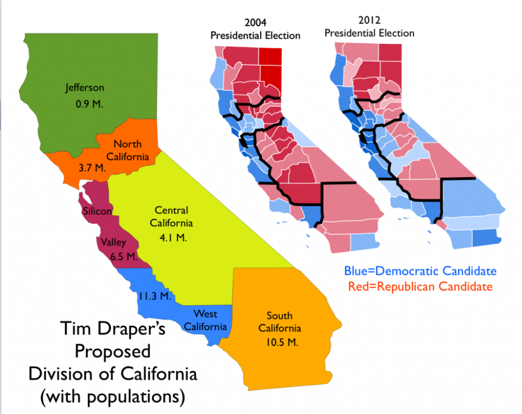 Will There Ever Be A 51St State? : Politicaldiscussion - Funner California Map