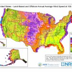 Wind Maps | Geospatial Data Science | Nrel - Florida Wind Speed Map
