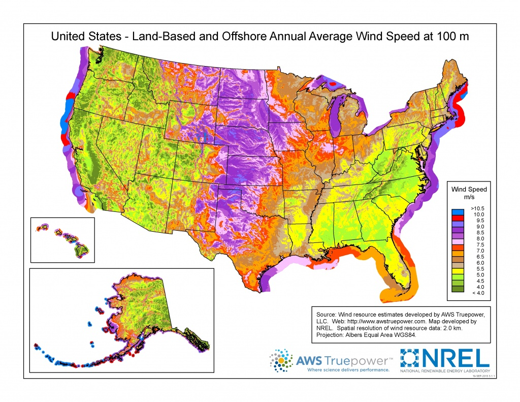 Wind Maps | Geospatial Data Science | Nrel - Real Time Wind Map California