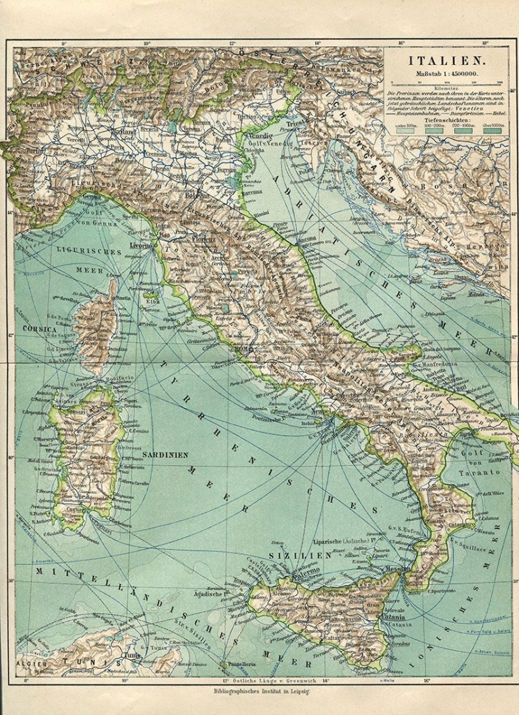 Wonderful Free Printable Vintage Maps To Download   Fonts - Printable Antique Maps