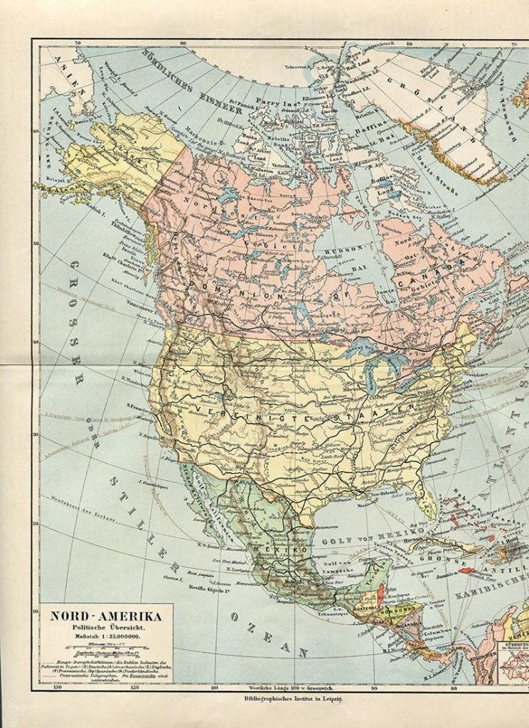 Wonderful Free Printable Vintage Maps To Download   Other   Map - Vintage Map Printable
