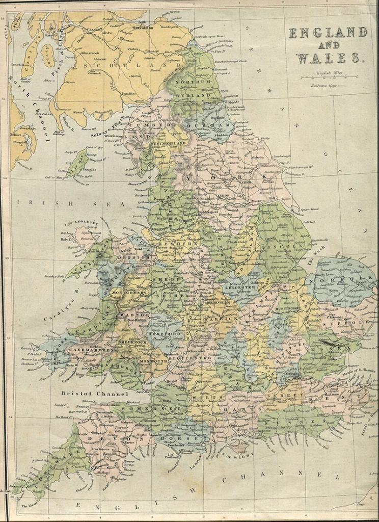 Wonderful Free Printable Vintage Maps To Download - Pillar Box Blue - Free Printable Vintage Maps