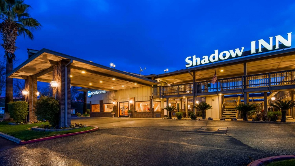 Woodland Hotels | Best Western Shadow Inn | Hotels Near Napa Valley - Map Of Best Western Hotels In California