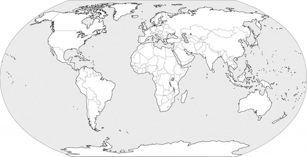 World Map Blank - World Wide Maps - Empty World Map Printable