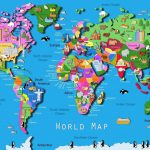World Map Download Big Size Fresh World Map Kids Printable Valid   Printable World Map With Countries For Kids