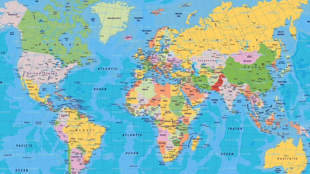 World Map - Free Large Images | Places With A View In 2019 | World - Large Printable World Map With Country Names