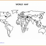 World Map Outline Printable For Kids And Travel Information   World Map Outline Printable For Kids