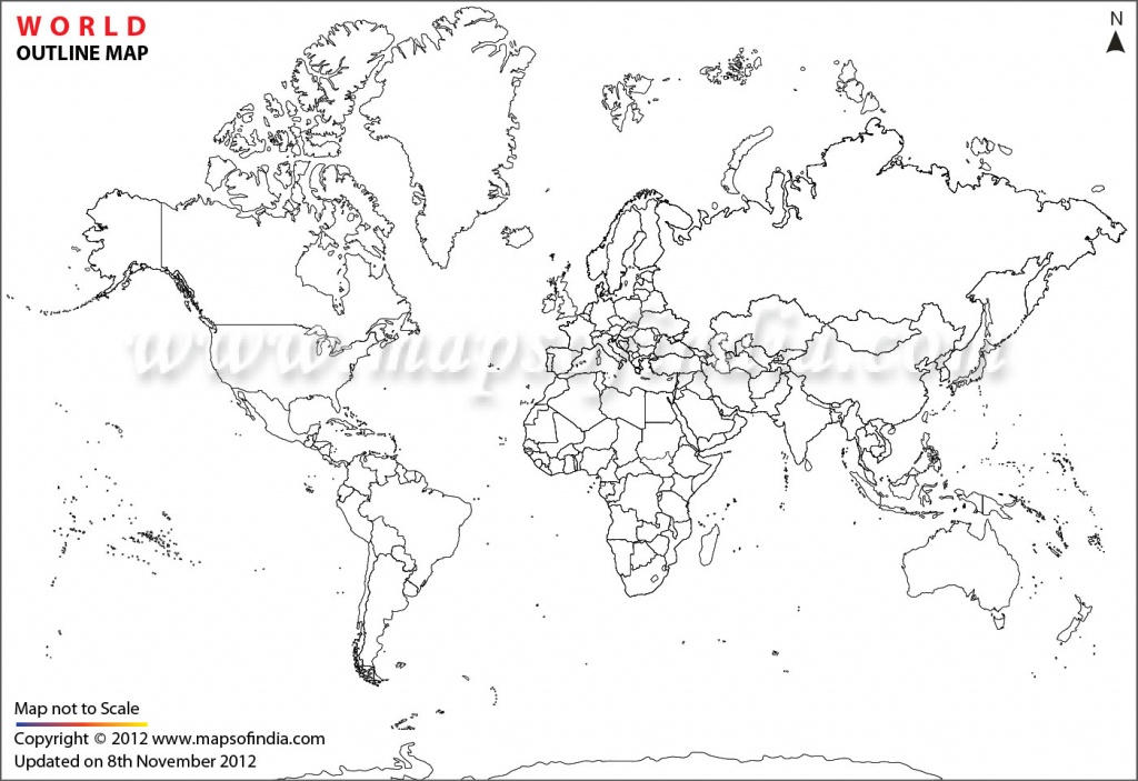 World Map Printable, Printable World Maps In Different Sizes - World Political Map Outline Printable