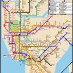 Www.nycsubway: New York City Subway Route Mapmichael Calcagno   Printable New York City Subway Map