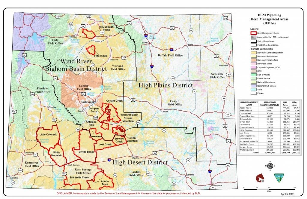 Wyoming | Bureau Of Land Management - Blm Land Map Northern California