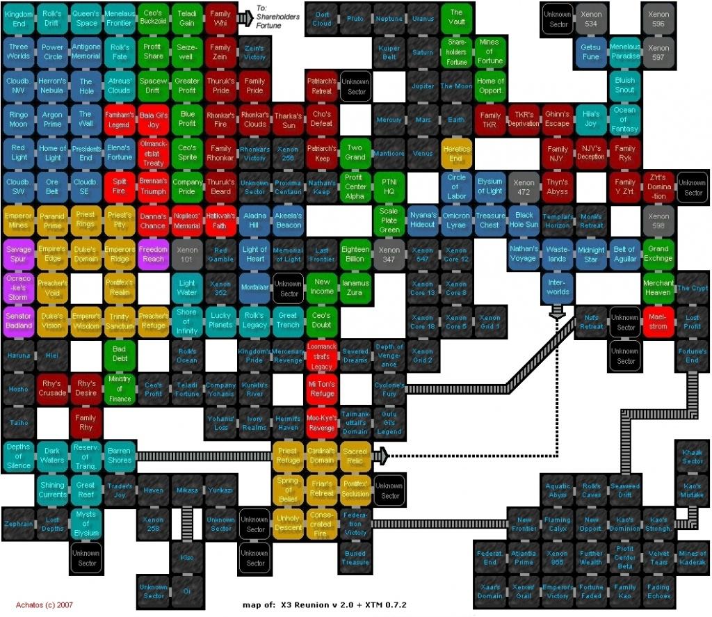 X3 Reunion Active Map - X3Tc Printable Map