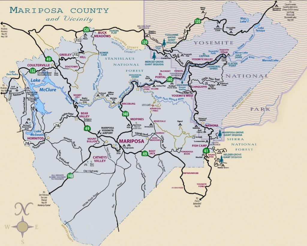 Yosemite Maps For Visitors | Discover Yosemite National Park - California Vacation Map