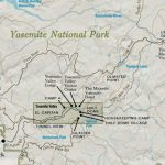 Yosemite National Park Overview Map   My Yosemite Park   Yosemite National Park California Map