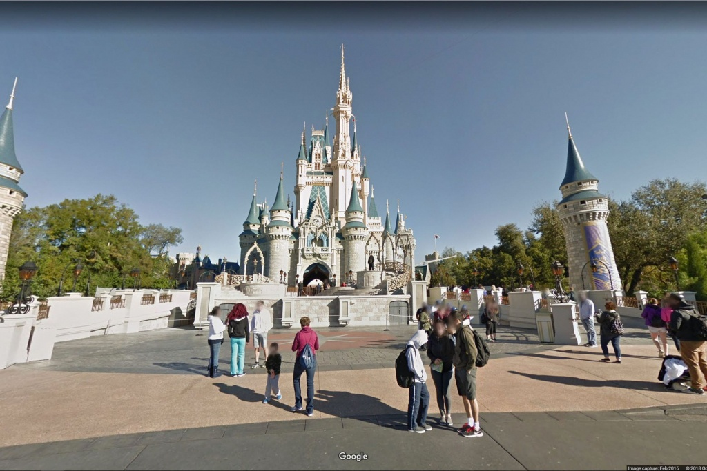 You Can Now Pretend You're In Disneyland On Google Maps | Family - Google Maps Orlando Florida