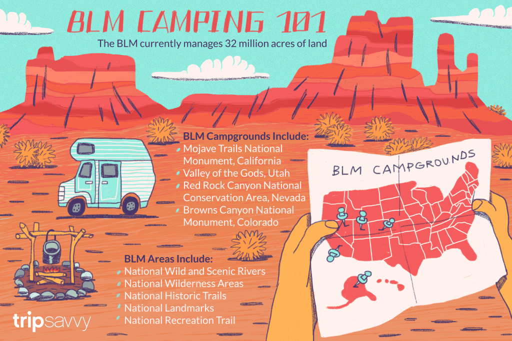 Your Guide To Blm Camping And Recreation - Blm Map California