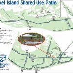 Your Guide To Sanibel Biking   Road Map Of Sanibel Island Florida