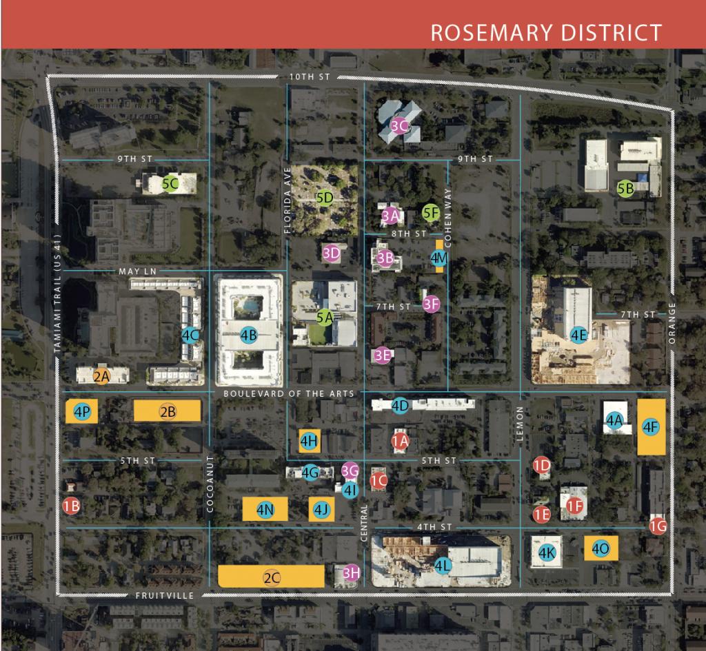 Your Guide To The Rosemary District   Sarasota Magazine - Map Of Sarasota Florida Neighborhoods
