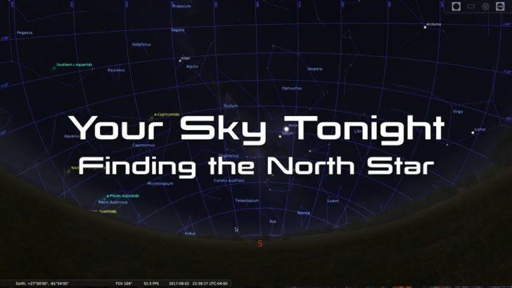 Florida Night Sky Map