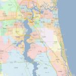 Zip Code Map Jacksonville Florida | Jacksonville Zip Codes   Ponte Vedra Florida Map