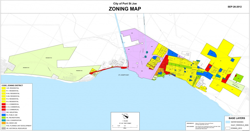 Zoning Maps | 98 Real Estate Group - Mexico Beach Florida Map