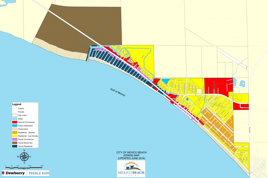 Zoning Maps | 98 Real Estate Group - Port St Joe Florida Map